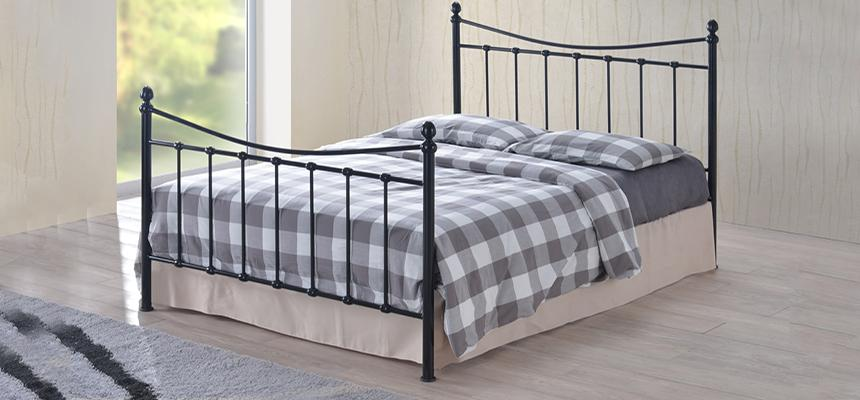 Alderley Metal Bed Frame - Memory Foam Warehouse