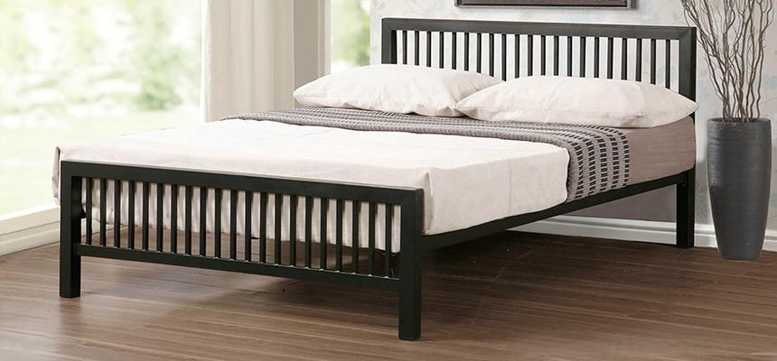 Meridian Metal Bed Frame - Memory Foam Warehouse