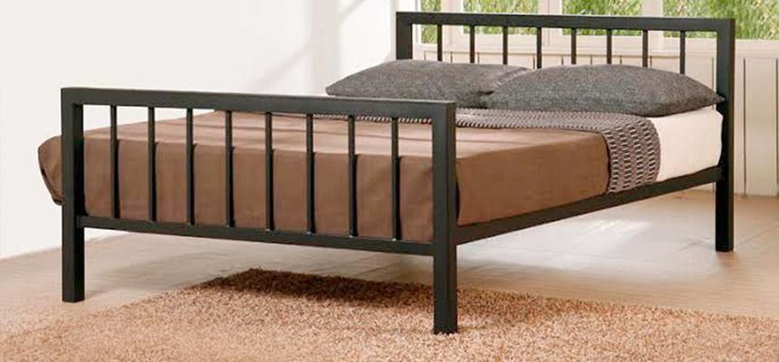 wholesale dealer 9aa35 240ff Metro Metal Bed Frame