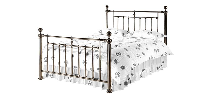 Alexander Metal Bed Frame - Memory Foam Warehouse