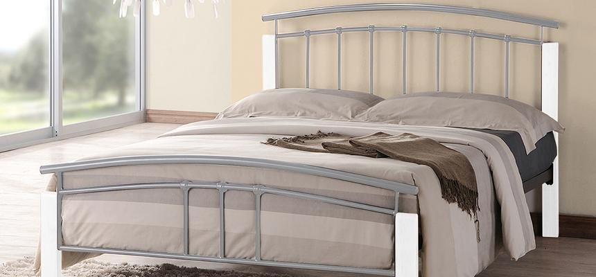 Tetras Metal Bed Frame - Memory Foam Warehouse