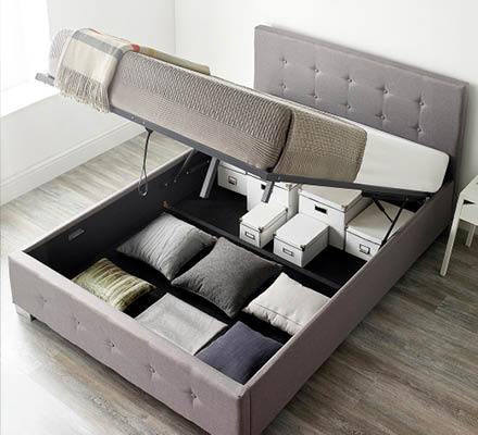 Essentials Homestarter Ottoman Bundle - Grey