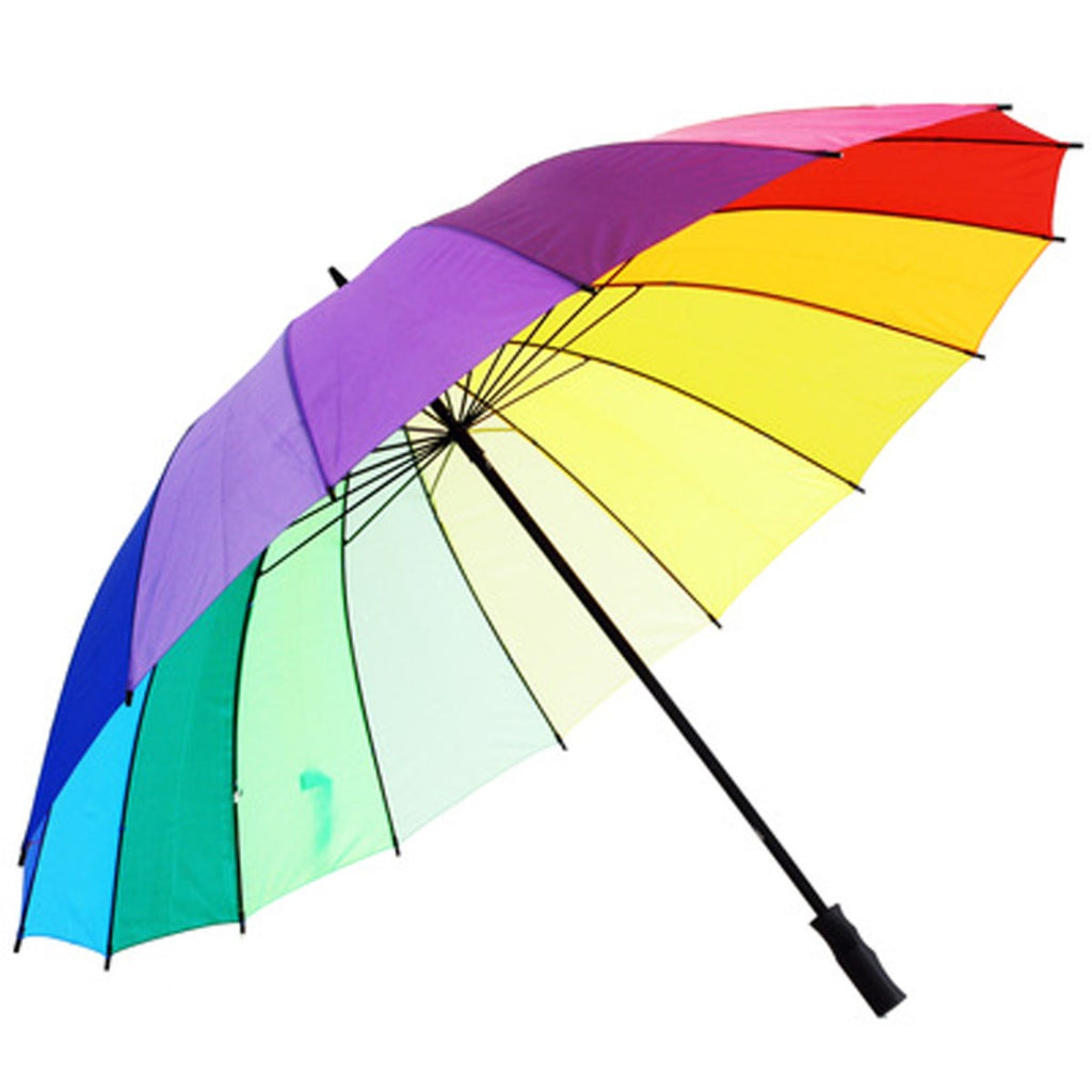 Susino large rainbow golf umbrella