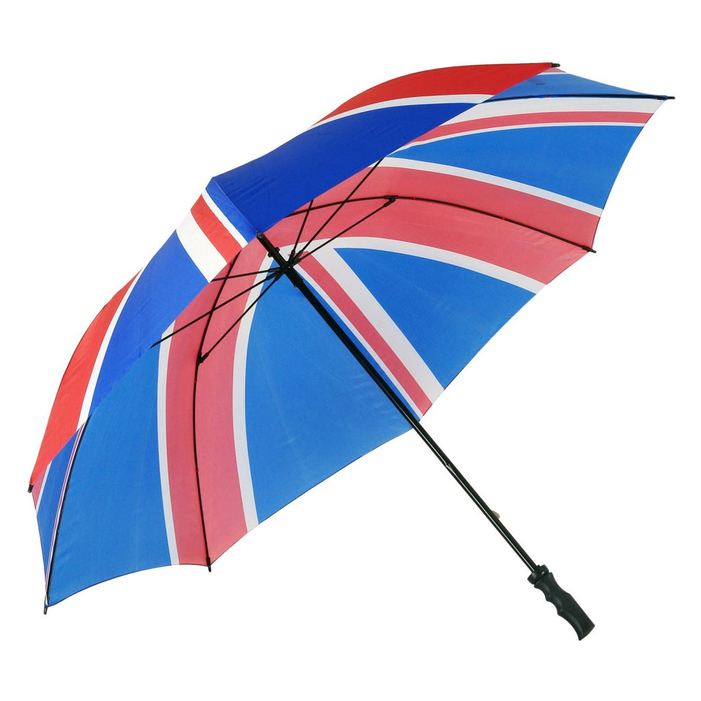 Large union jack/flag golf umbrella