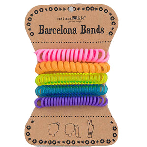 Natural Life Women's Boho Barcelona Neon Rainbow Hair Bands