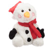 Plush Christmas Snowman Heat Pack