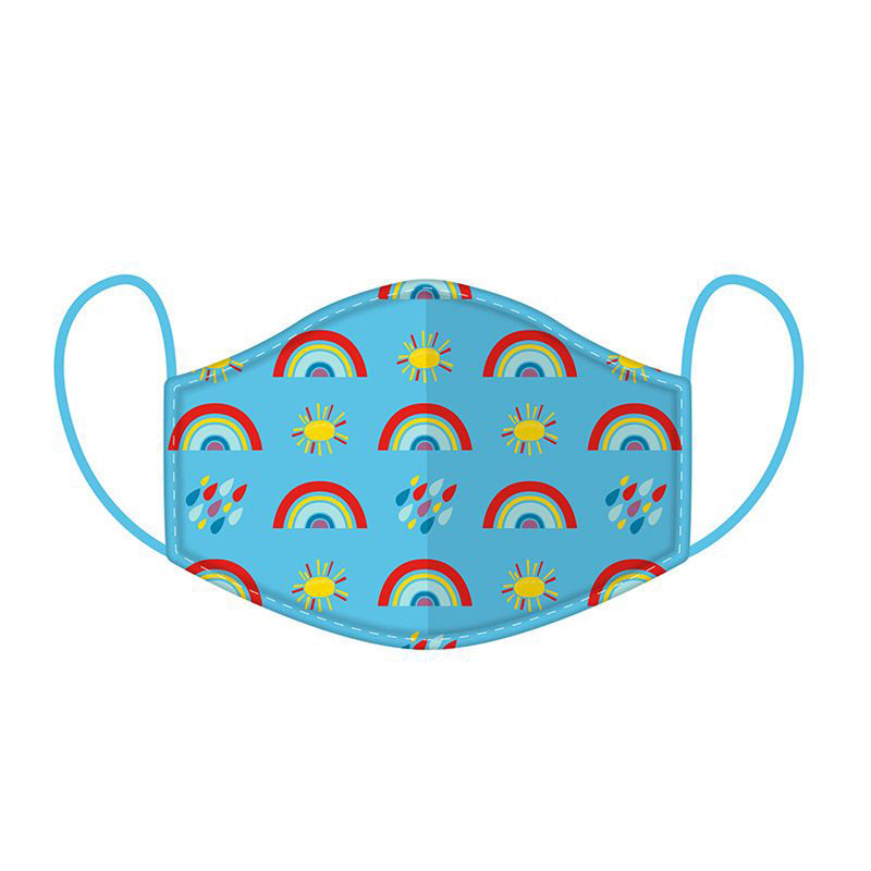 Rainbow Reusable Face Mask / Covering - Small