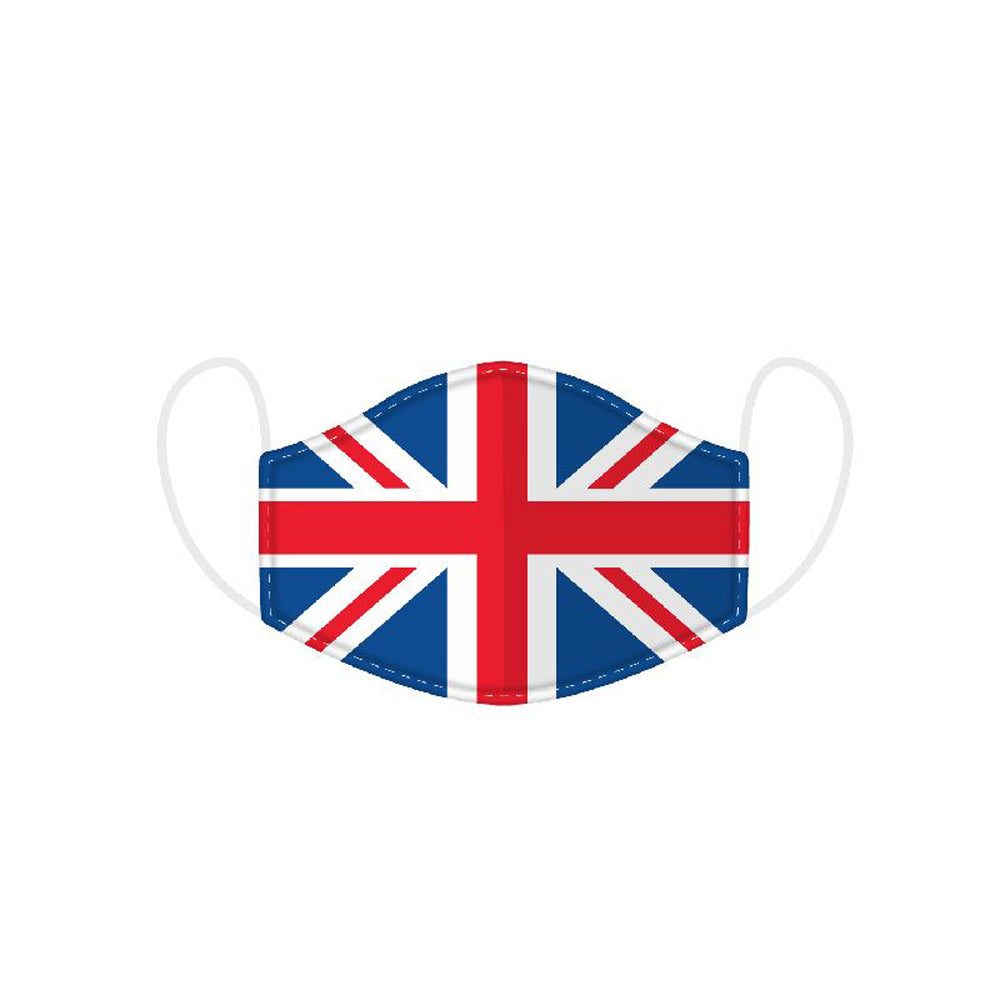 Great Britain Union Jack Flag Reusable Face Mask / Covering - Large