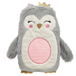 Plush Penguin with Crown 1L Hot Water Bottle