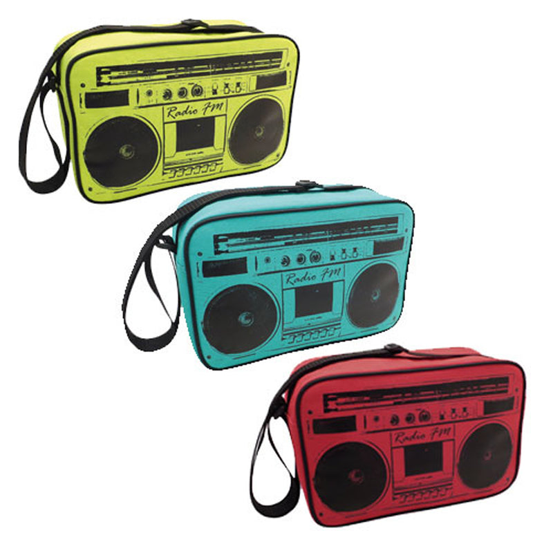 Retro Radio Design Insulated Cool Bag