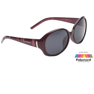 Adults Jocelyn Ladies Polarized EyeLevel Sunglasses -  Purple or Brown