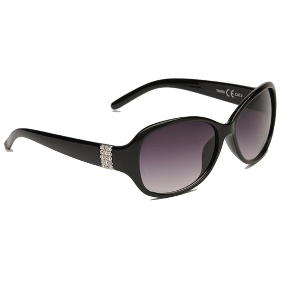 Adults's Tanya Glitz & Glamour EyeLevel Sunglasses -  Black or Brown