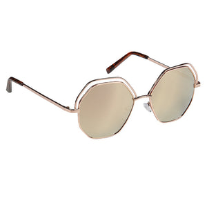 Adults Zara Young & Trendy EyeLevel Sunglasses -  Black, Rose Gold, Silver