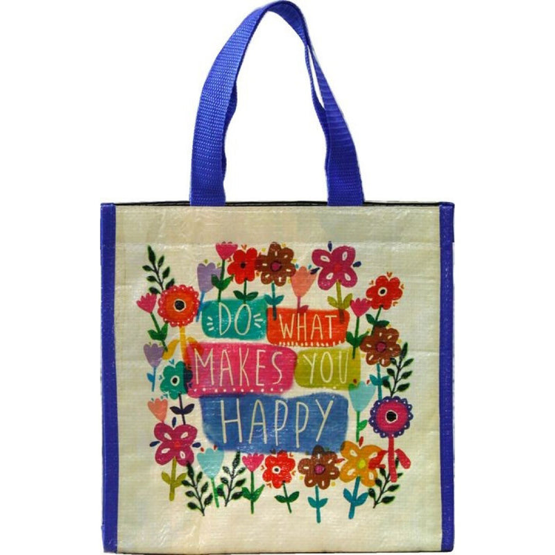 Natural Life Do What Happy Insulated Lunch Bag