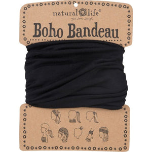 Natural Life Women's Boho Solid Cream Boho Bandeau