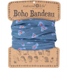 Natural Life Women's Boho Dusty Blue Lily Boho Bandeau