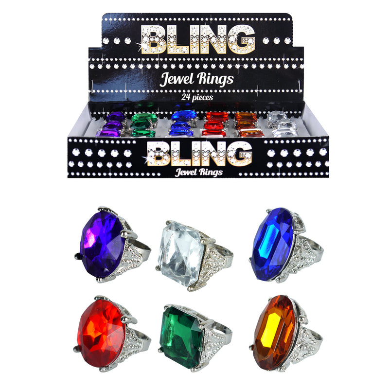 Bling Jewel Gangster Rapper Ring