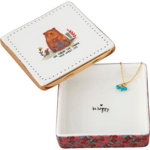 One Friend Can Change Ceramic Trinket Box