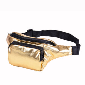 80s/90s Metallic Festival Bum Bags 80's dressing up Summer Festival Concerts