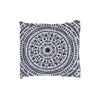 Natural Life Women's Boho Cream Black Mandala Half Boho Bandeau