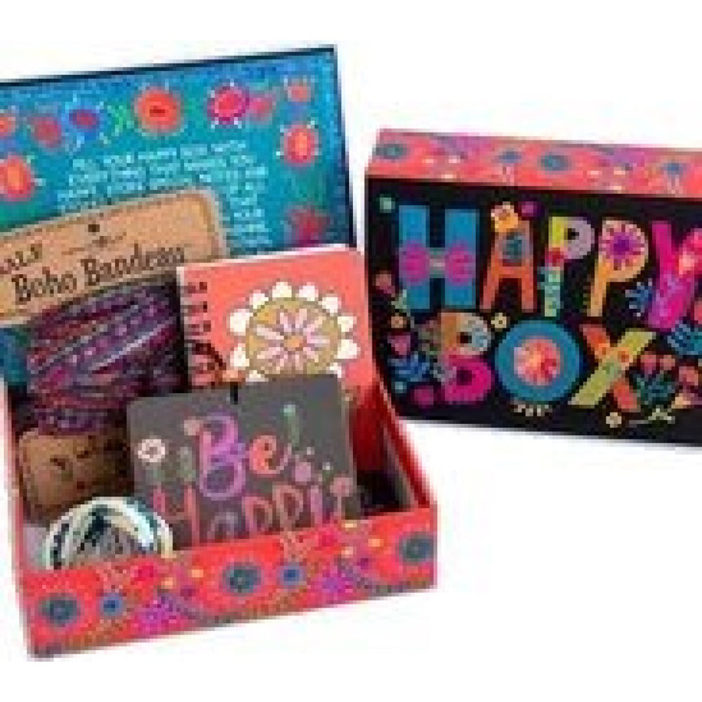 Natural Life Colourful Letter Happy Box