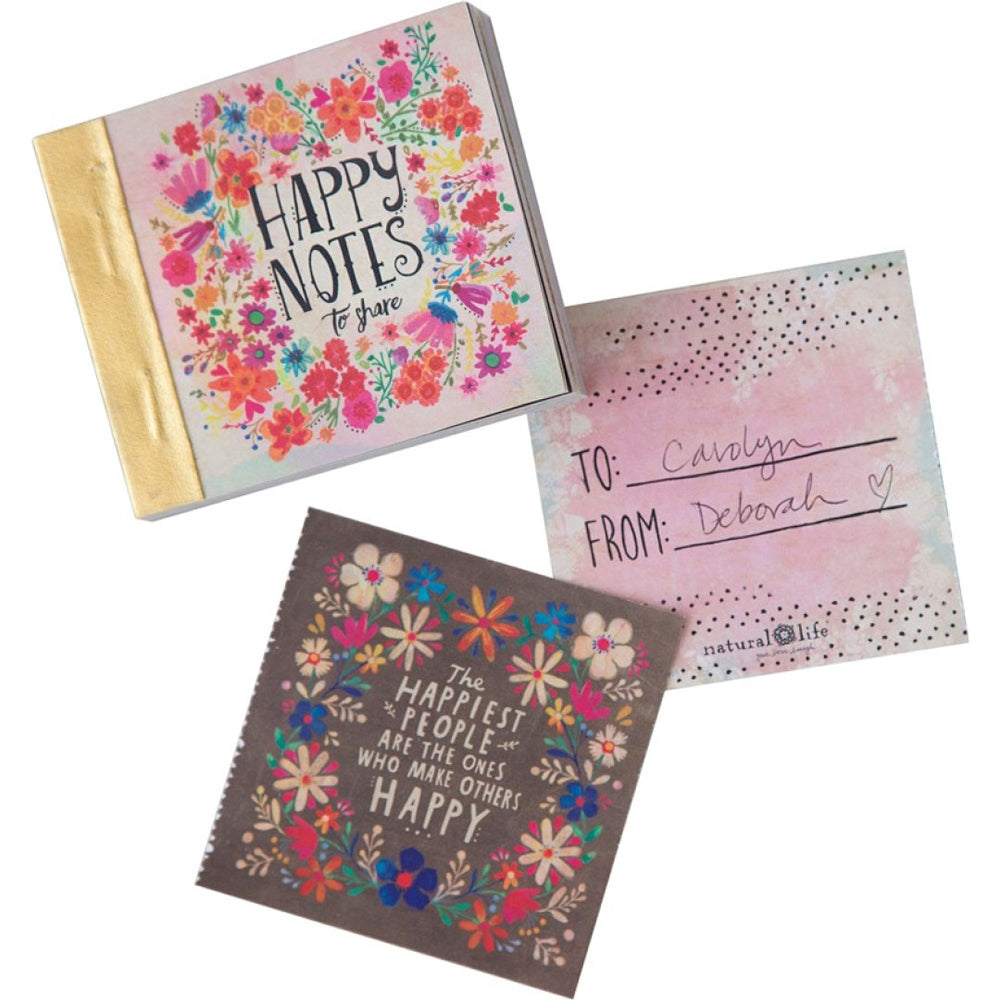 Natural Life Happy Notes Tiny Book