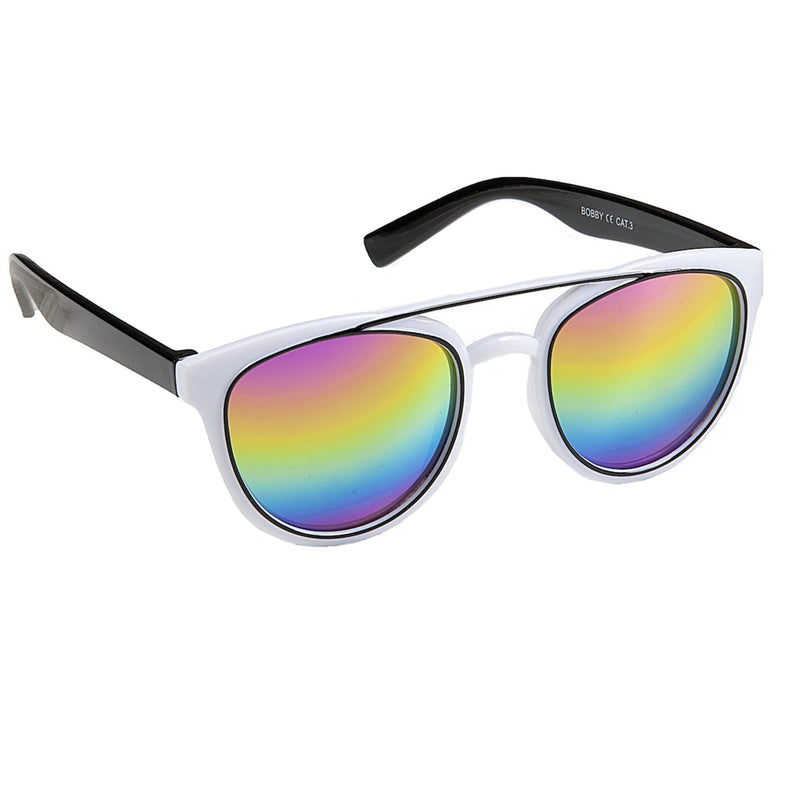 Kid's Bobby Black or White Mirrored EyeLevel Sunglasses