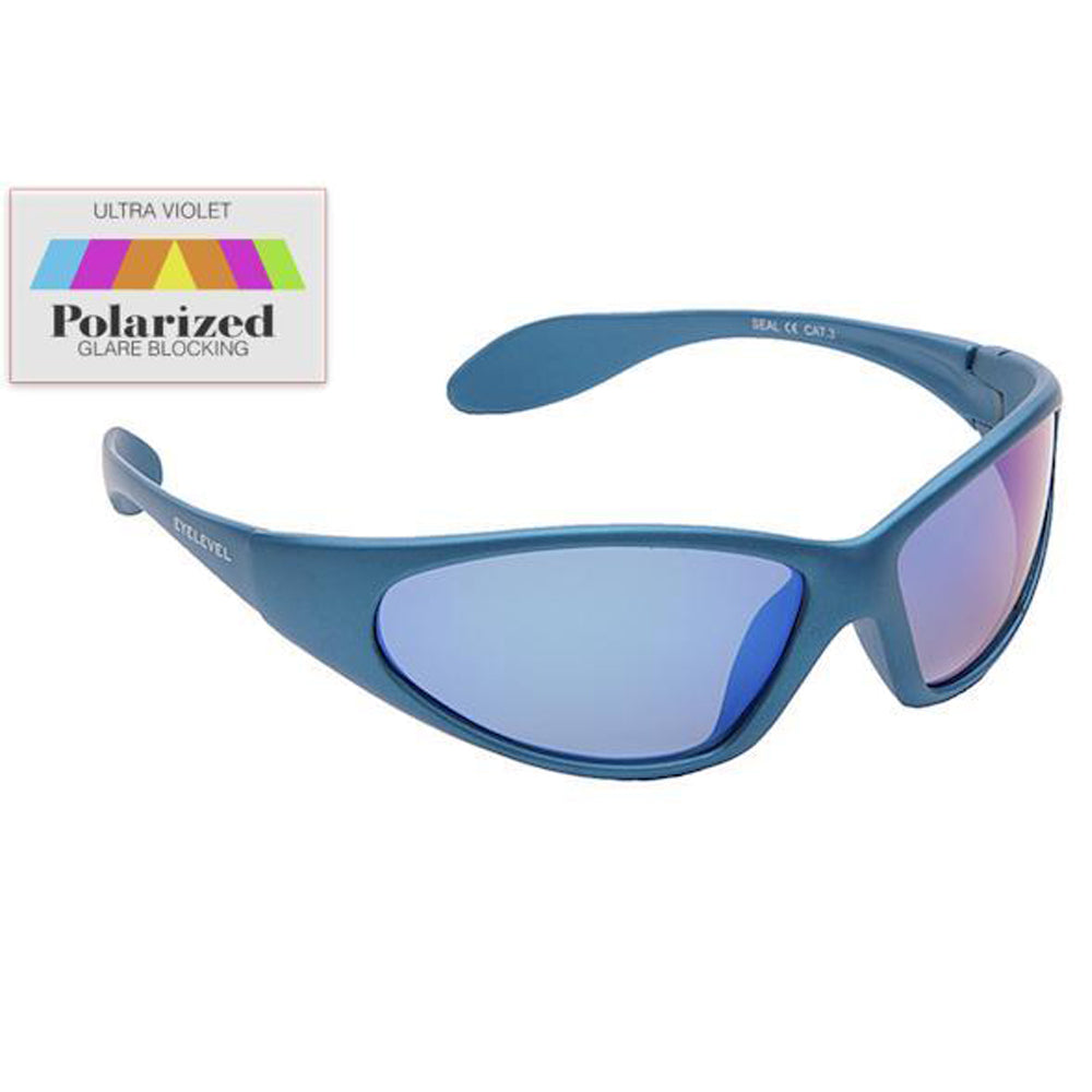 Kid/'s Sunglasses Seal Polarized Sunglasses Blue or Grey Frame EyeLevel