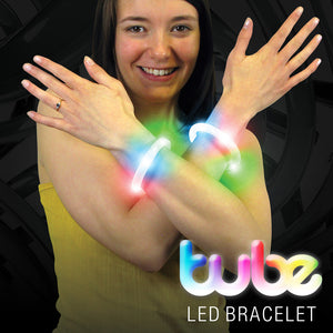 LED Flashing Jewellery Party Pack: LED Crazy Hair, Flashing Bracelet & Ring