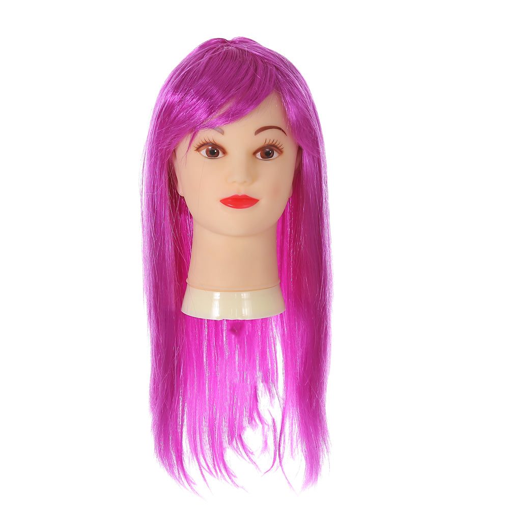 Long Purple Rock Star Wig