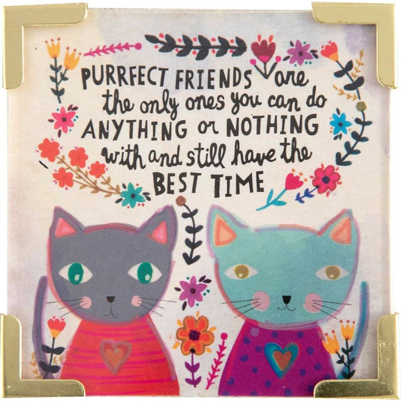 Natural Life Corner Magnet Purrfect Friend