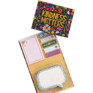 Natural Life Do Your Thing Sticky Note Book Kindness Matters