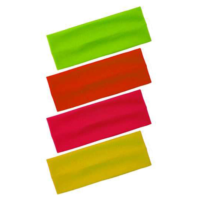 Neon Kylie Headband, Neon Pink, Orange, Yellow and Green