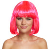 80s Neon Bob Wig For Festivals various colours