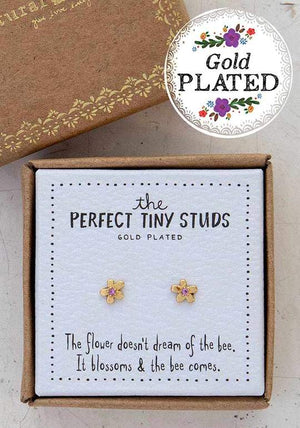 Natural Life Perfect Tiny Studs - Flower
