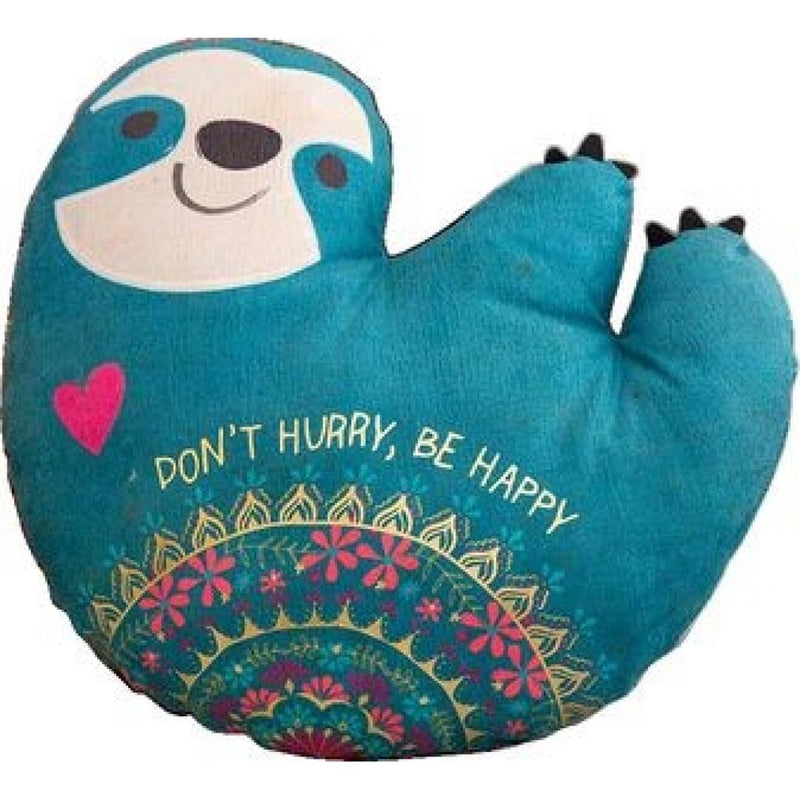 Natural Life Happy Pillow Sloth