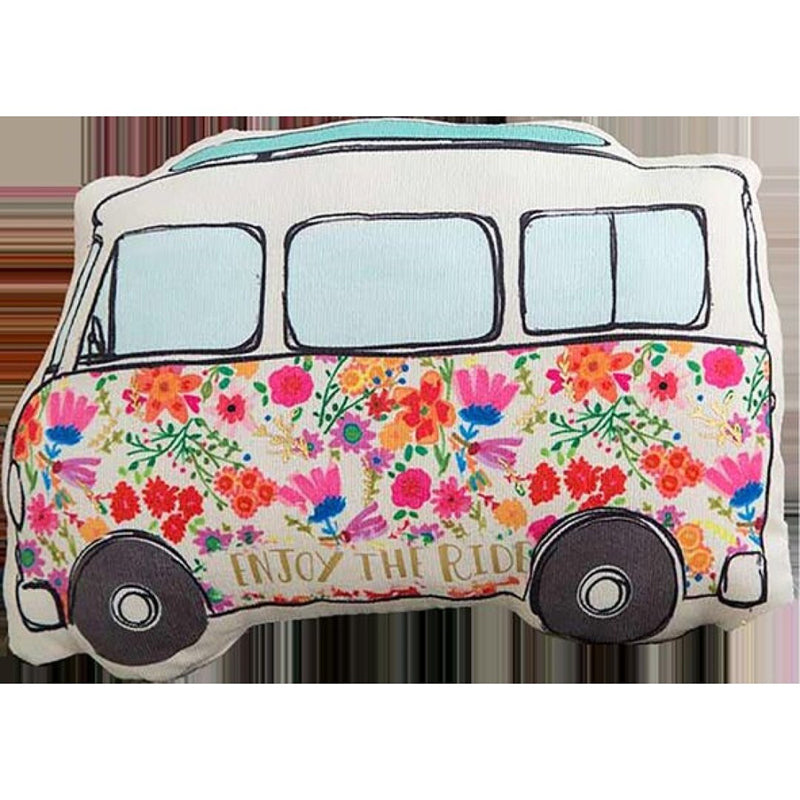 Natural Life Happy Pillow Van