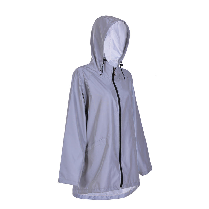 Refelctive Festival Raincoat