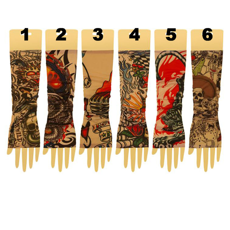 Tattoo Sleeves Assorted Patterns