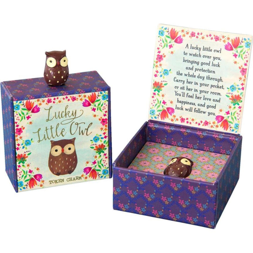 Natural Life Lucky Charms Little Owl