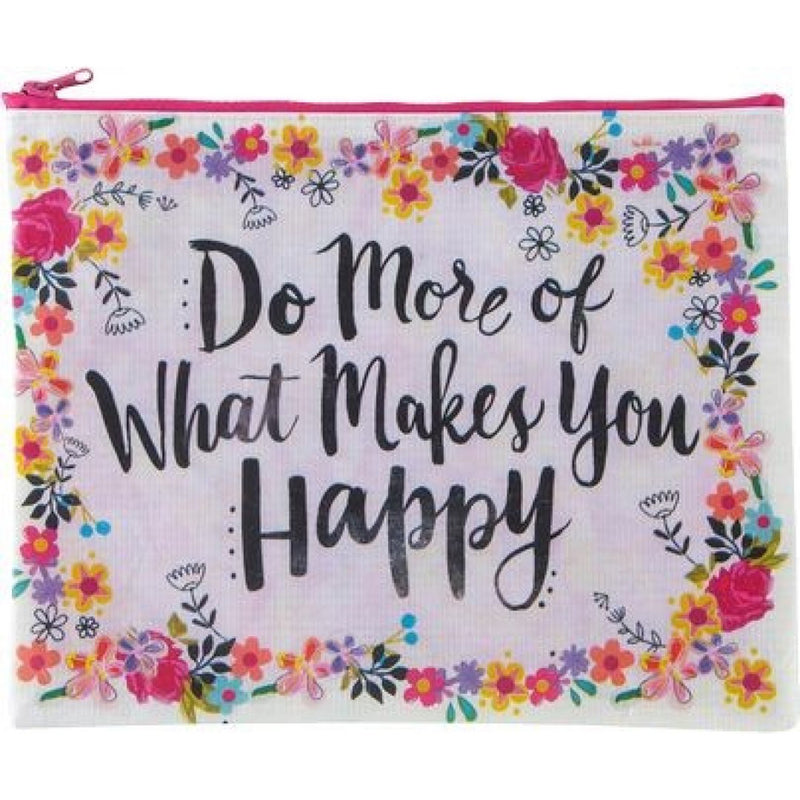 Natural Life Do More Happy Pouch