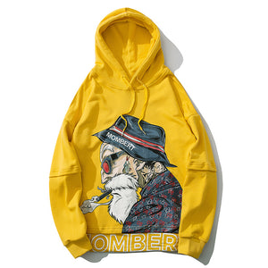 Mombert Yellow Hoodie – streetwear street fashion asian style-  Mombert printed Hoodie Made with Premium cotton / polyester Asian inspired design