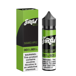 60ML | Sugared Apple by Sinful Sweetz