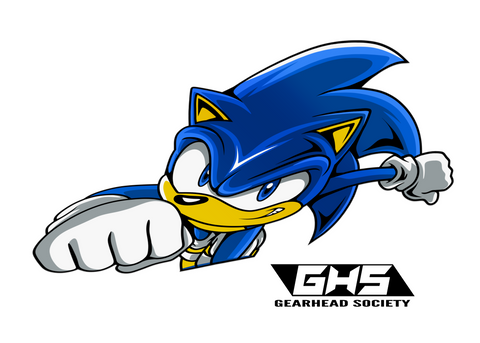 Sonic (Die Cut Sticker)