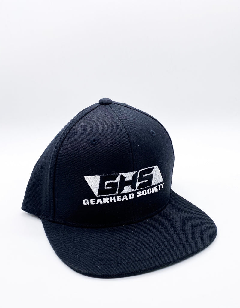 GHS black Snap back (championship white logo)