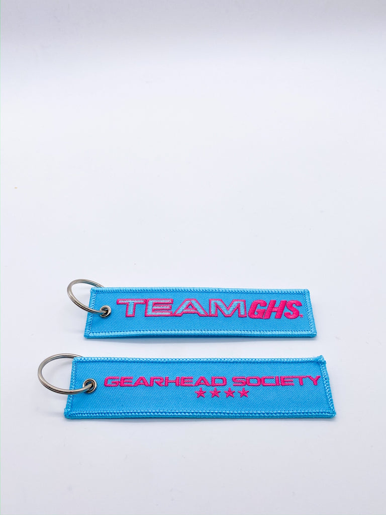 Team GHS Baby Blue x Pink Jet Tag