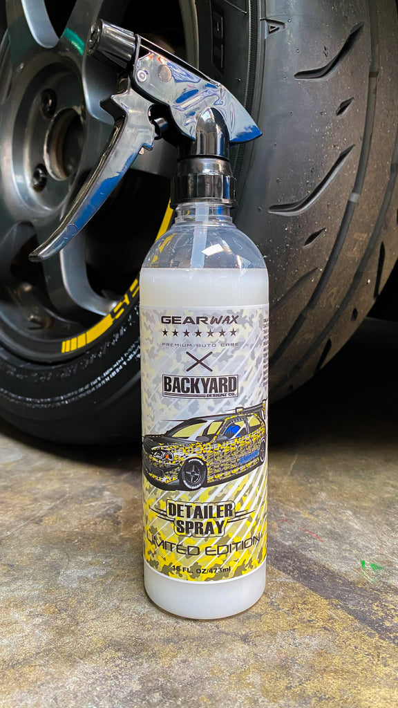 GearWax X Backyard Limited Edition Detailer