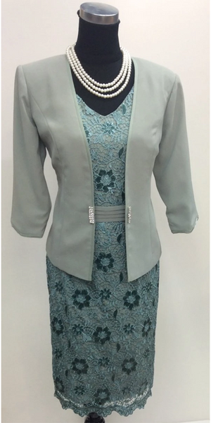 Dress and Jacket Set 386