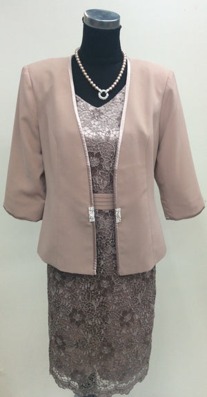 Dress and Jacket Set 346