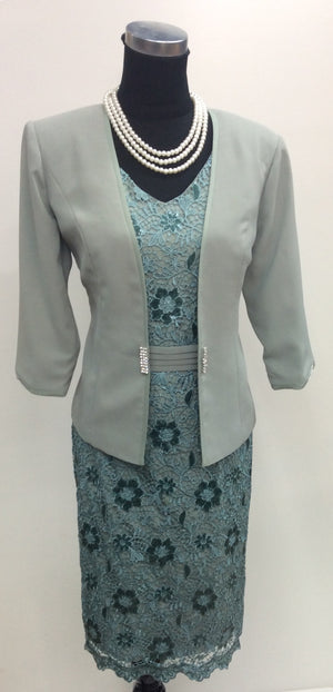 Dress and Jacket set 347